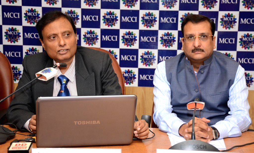 """Bengal Circle Chief Postmaster Gautam Bhattacharya during an interactive session on """"India Post : The Road Ahead"""" organised by Madras Chamber of Commerce & Industry (MCCI) in ..."""