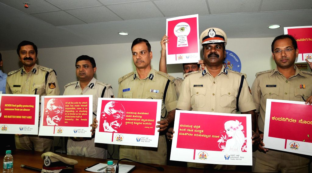 Additional Commissioner of Police, Bangalore City Alok Kumar at the launch of `Crime prevention month 2014` and a campaign to create awareness regarding crime against women and children in - City Alok Kumar