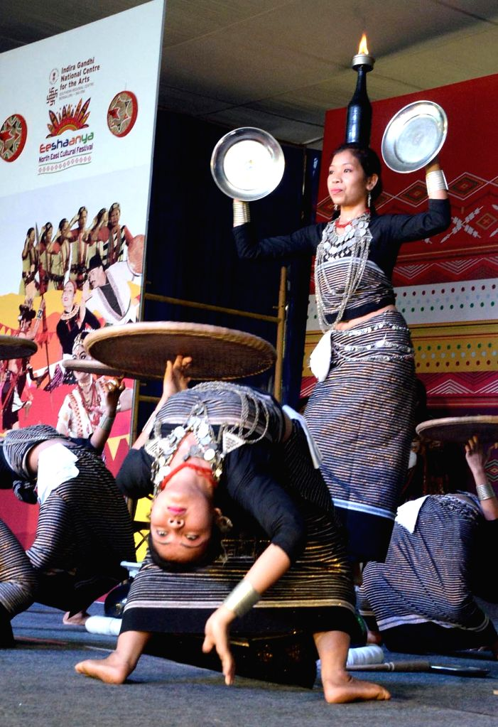 Artists participate in two-day long North East Cultural Festival at the Indira Gandhi National Centre for the Arts in Bengaluru, on March 29, 2015.
