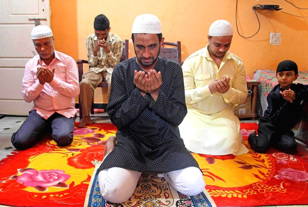 Bengaluru, Aug 1 (IANS) Thousands of devout Muslims celebrated a subdued Eid-ul-Adha (Bakrid) across Karnataka, with majority of them offering namaz at home as per the COVID-19 induced guidelines to contain the pandemic, an official said on Saturday.