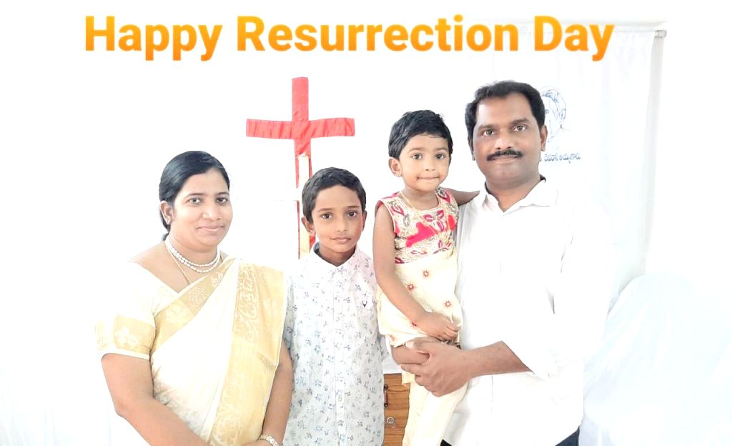 Bengaluru: For the first time in several years, city Christians digitally connected via social media on Easter Sunday to celebrate the resurrection of Jesus Christ with gaiety at a distance, amid Covid lockdown. Bengaluru Bible Mission Church Pastor