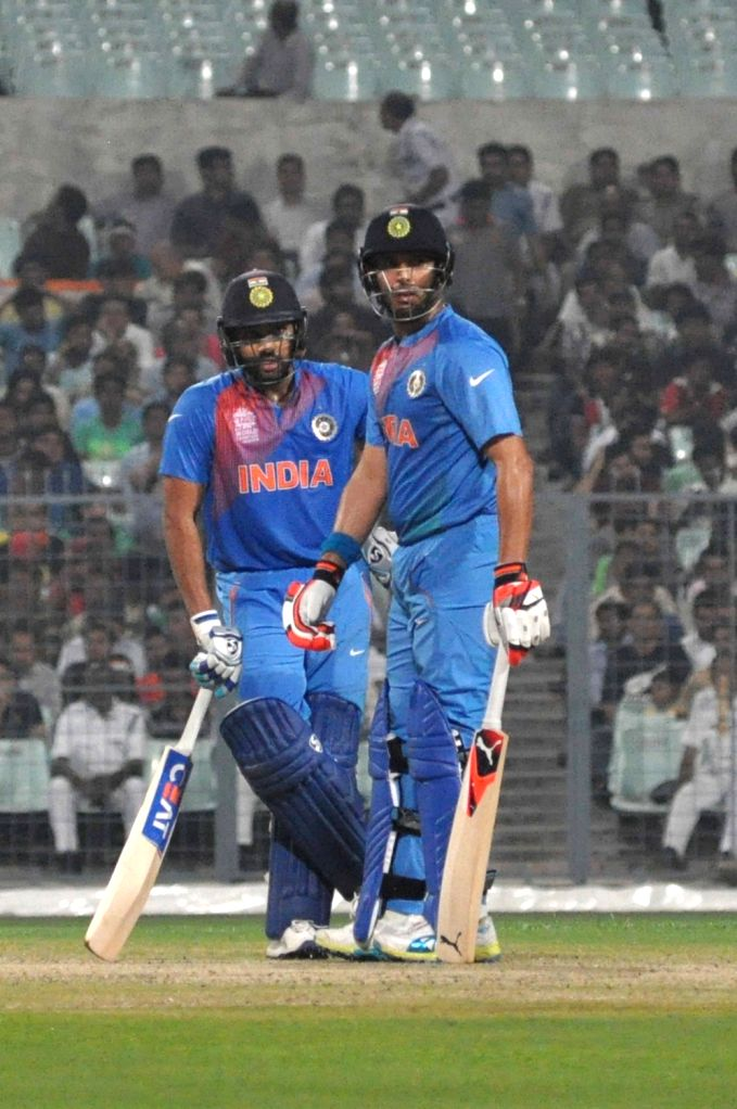 Bengaluru, June 18 (IANS) Some of the biggest names in the Indian sports fraternity, including Rohit Sharma and Yuvraj Singh, have come together to support the launch of the 'Play for India' initiative to help those whose livelihoods have been put at - Rohit Sharma and Yuvraj Singh