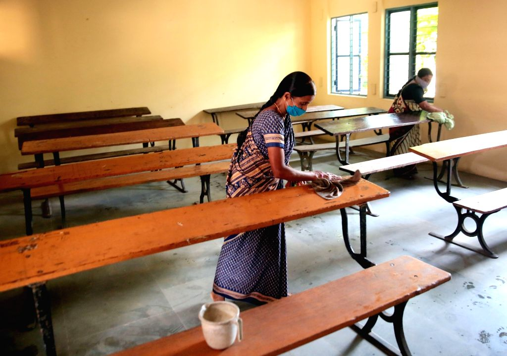 Bengaluru, June 24 (IANS) Allaying fears and defying calls to defer them, Karnataka is all set to conduct the Covid-hit rescheduled Secondary School Leaving Certificate (SSLC) board exams for class 10 students across the southern state from Thursday,