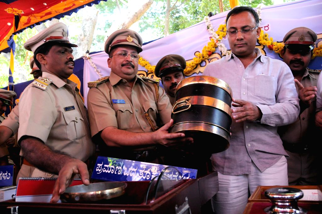 Karnataka Food  and Civil Supplies Minister Dinesh Gundu Rao during the inauguration of the National Consumers Day,organised in Bengaluru on Dec 24, 2014. - Dinesh Gundu Rao
