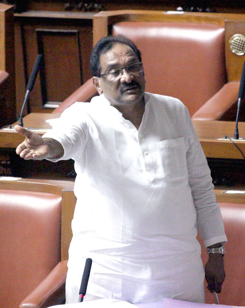 Karnataka Home Minister U T Khadar during Karnataka Assembly Session at Vidhan Soudha, in Bengaluru, on Feb 9, 2015. - U T Khadar