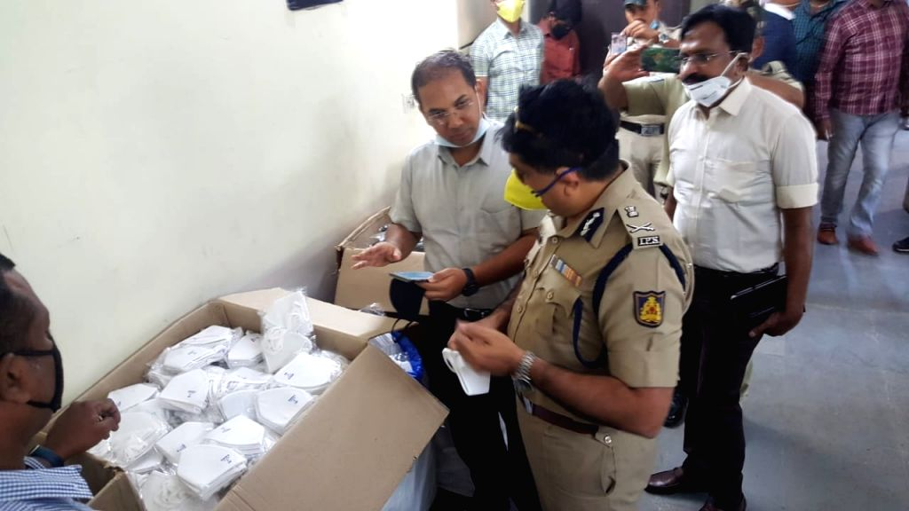 Bengaluru police arrested a duo making fake N95 masks at Banaswadi in Bengaluru and seized 12,000 masks, on March 31, 2020. They were supplying the masks to medical shops and selling to ...