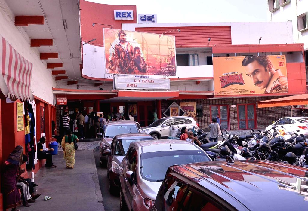 Bengaluru: Rex, one of the oldest single screen theaters in Bengaluru that will be shut down to make way for a multiplex; on Dec 31, 2018. (Photo: IANS)