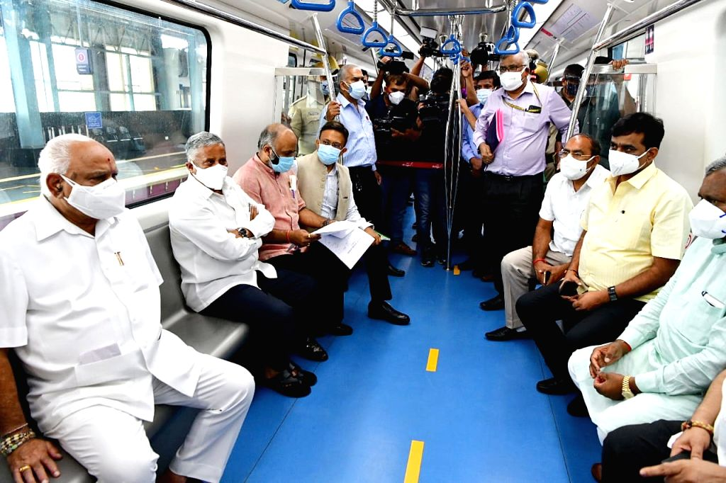 Bengaluru's extended metro rail service begins in July