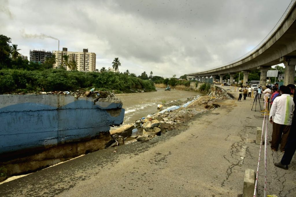Bengaluru's Kengeri suburb reports record rainfall.