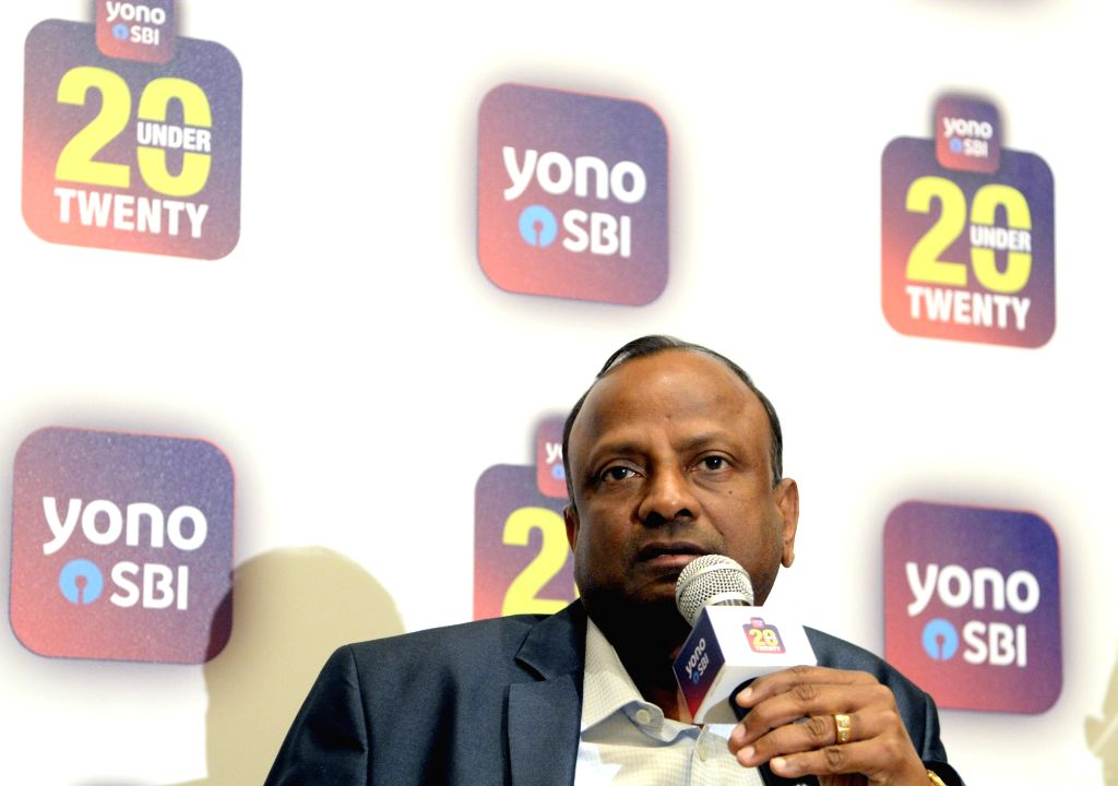Bengaluru: SBI Chairman Rajnish Kumar addresses a press conference in Bengaluru, on Feb 4, 2019. (Photo: IANS) - Rajnish Kumar