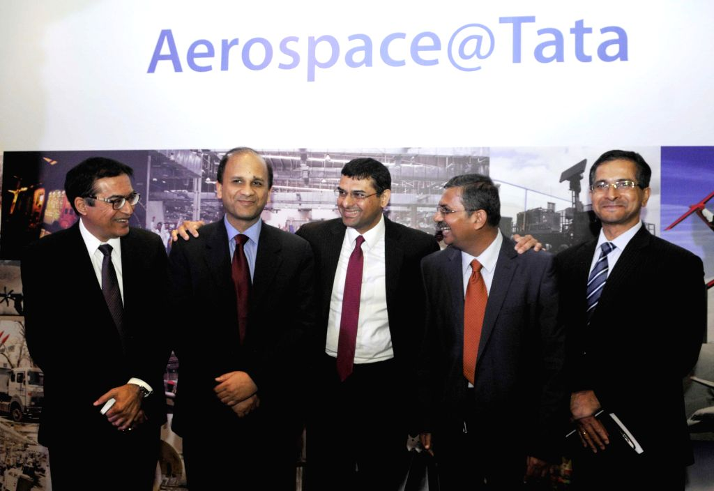 TAL Manufacturing Solutions Ltd Executive Director and Chief Executive Office Rajesh Khatri, TATA Advanced Systems Ltd MD and CEO Sukaran Singh, the member of Group Executive Council and .. - Sukaran Singh and Roy Choudhury