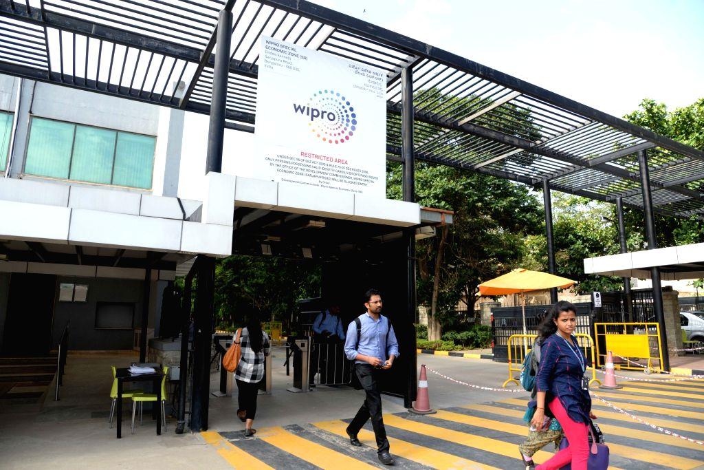 Bengaluru: Wipro Campus in Bengaluru on July 20, 2017. (Photo:IANS)