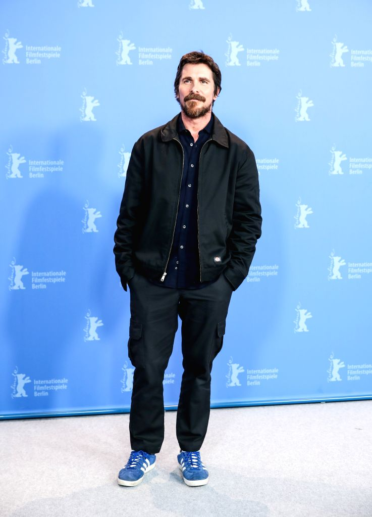 """BERLIN, Feb. 12, 2019 - Actor Christian Bale of the film """"Vice"""" attends a photocall during the 69th Berlin International Film Festival in Berlin, Germany, Feb. 11, 2019. - Christian Bale"""