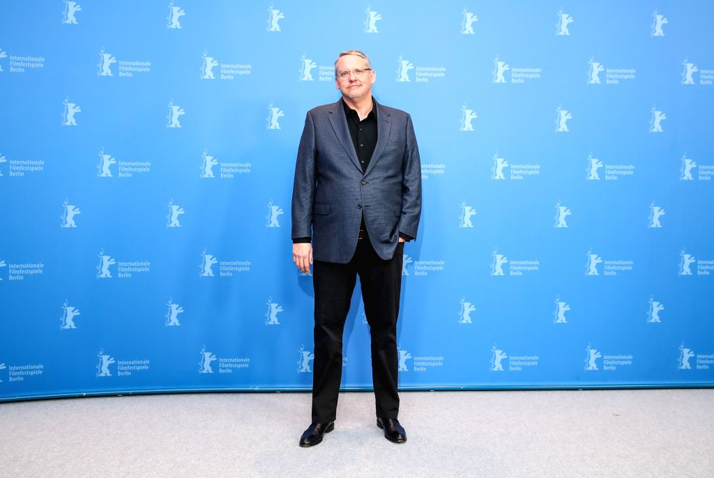 """BERLIN, Feb. 12, 2019 - Director and screenwriter Adam McKay of the film """"Vice"""" attends a photocall during the 69th Berlin International Film Festival in Berlin, Germany, Feb. 11, 2019."""