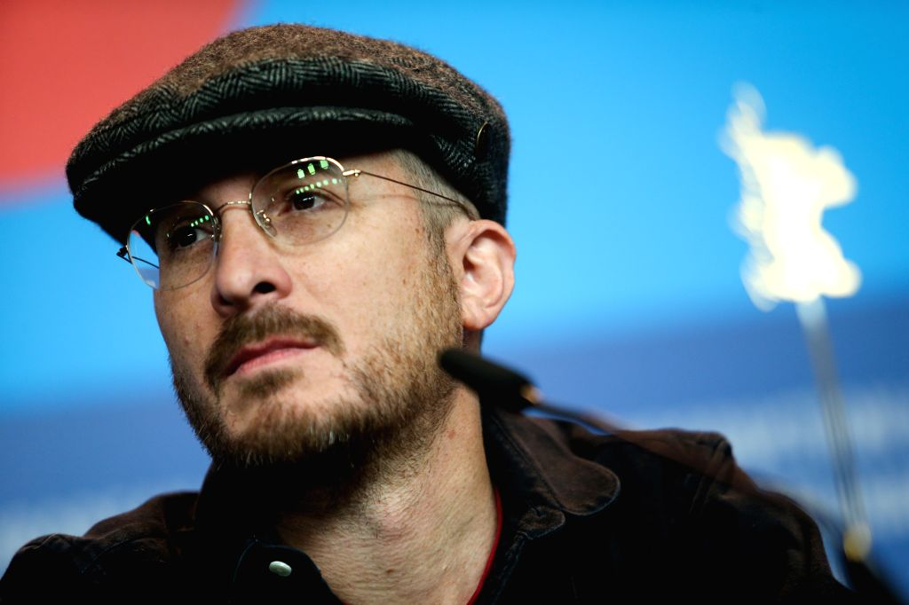U.S. director Darren Aronofsky, president of the jury, attends a press conference at the 65th Berlinale International Film Festival in Berlin, Germany, on Feb. 5, 2015.