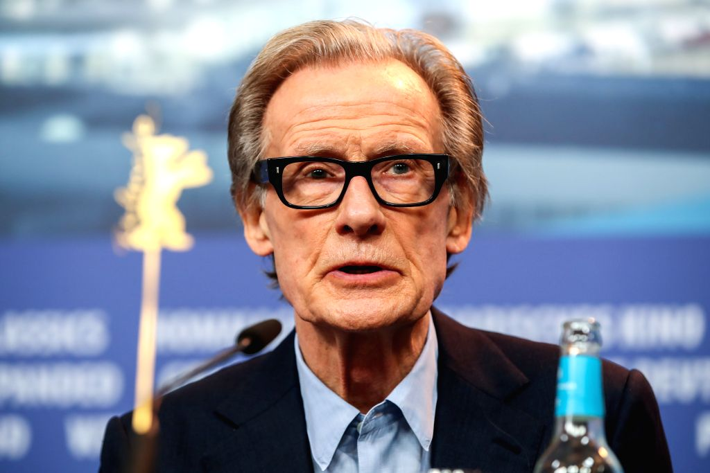 """BERLIN, Feb. 7, 2019 - Actor Bill Nighy of the film """"The Kindness of Strangers"""" attends a press conference during the 69th Berlin International Film Festival in Berlin, capital of Germany, ... - Bill Nighy"""