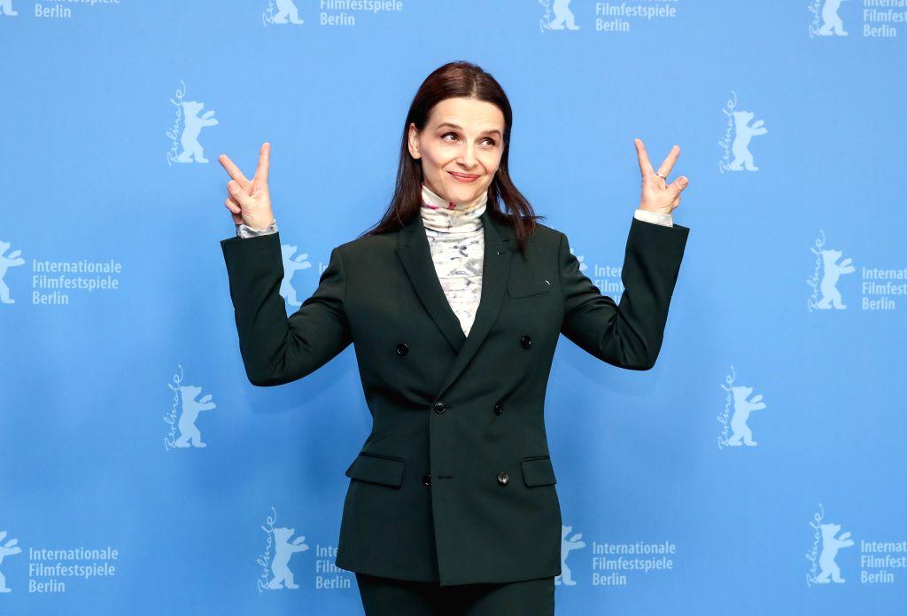 BERLIN, Feb. 7, 2019 - President of the Berlinale 2019 jury Juliette Binoche attends a photocall during the 69th Berlin International Film Festival in Berlin, capital of Germany, Feb. 7, 2019. The ...