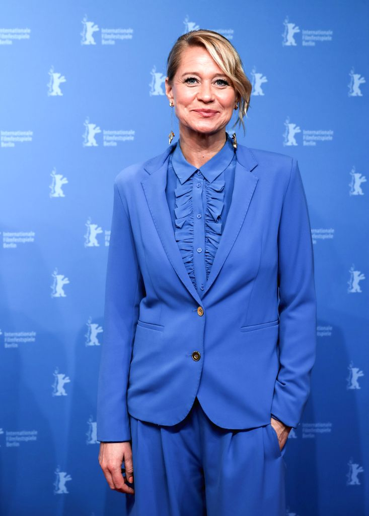 """BERLIN, Feb. 9, 2019 - Actress Trine Dyrholm of film """"Brecht"""" poses for photos at a photocall prior to the premiere during the 69th Berlin International Film Festival in Berlin, capital of ... - Trine Dyrholm"""