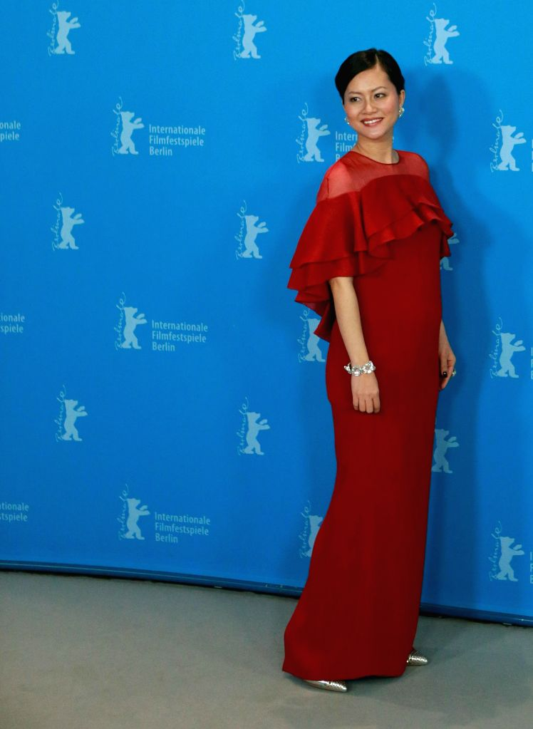 """Actress Do Thi Hai Yen of film """"Big Father, Small Father and Other Stories"""" poses during a photocall at the 65th Berlinale International Film Festival in ."""