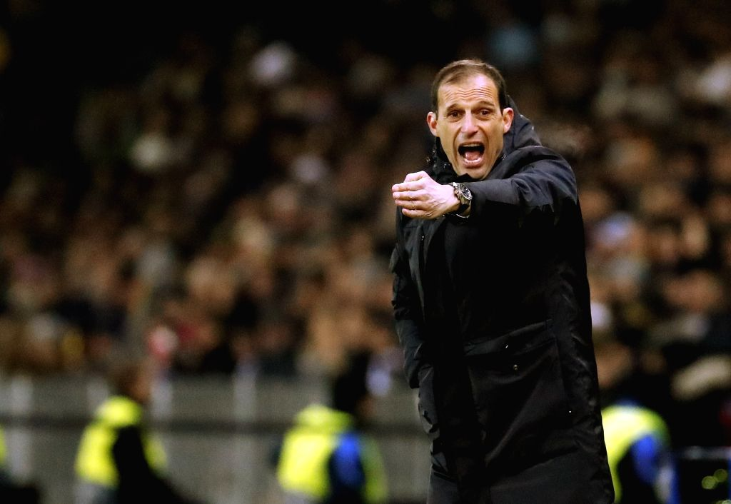 BERN, Dec. 13, 2018 - Juventus' head coach Massimiliano Allegri reacts during the UEFA Champions League Group H match between Young Boys and Juventus in Bern, Switzerland, Dec. 12, 2018. Juventus ...