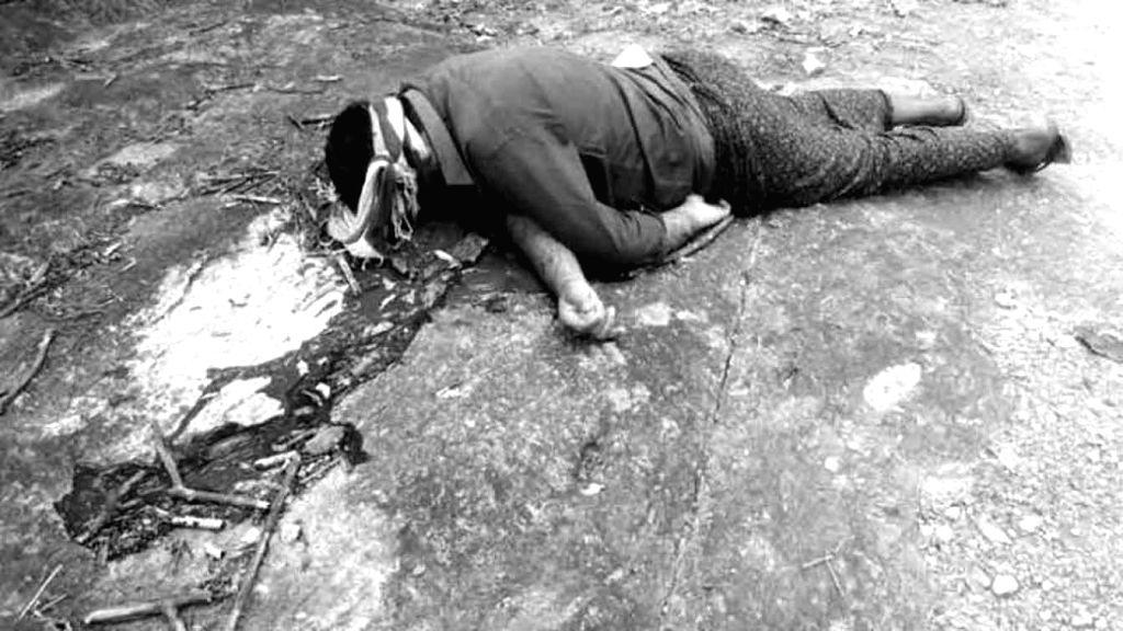 Bhadradri Kothagudem: A local leader of ruling Telangana Rashtra Samithi (TRS), N. Srinivas Rao who was kidnapped by Maoists three days ago, was found murdered on Yerrampadu-Puttapadu road in the agency area in Bhadradri Kothagudem district of Telang - N. Srinivas Rao