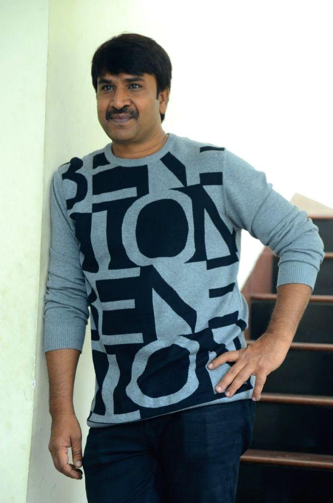 Bhagyanagara Veedhulo Movie Director and Actor Srinivasa Reddy Media Conference. - Srinivasa Reddy Media Conference
