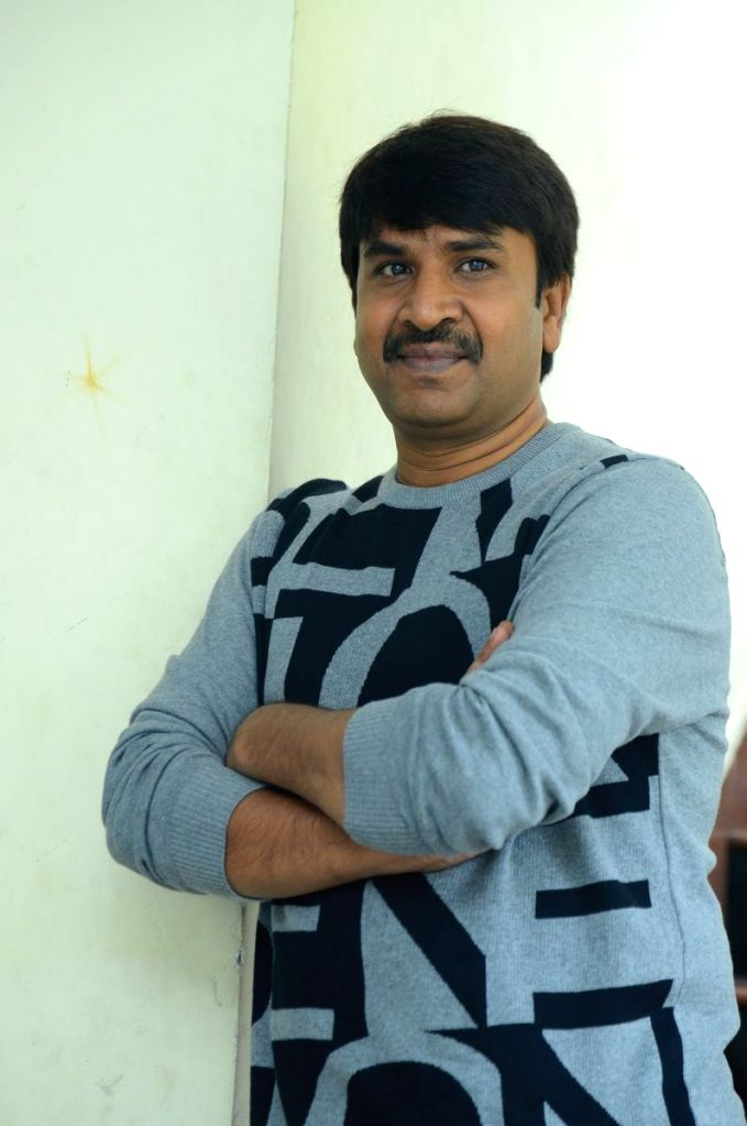 Bhagyanagara Veedhulo Movie Director and Actor Srinivasa Reddy Media Conference. - Srinivasa Reddy Media Conference