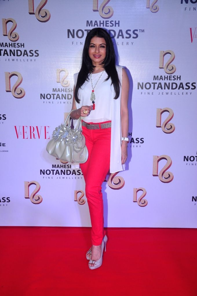 Bhagyashree @ Mahesh Notandass Collection Launch Event