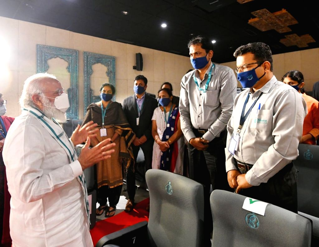 Bharat Biotech working with ICMR for speedy progress in covid vaccine devpt: PM