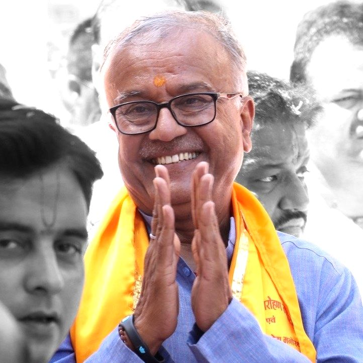 Bharatiya Janata Party (BJP) MP Nand Kumar Singh Chauhan passed away.(photo:Facebook)
