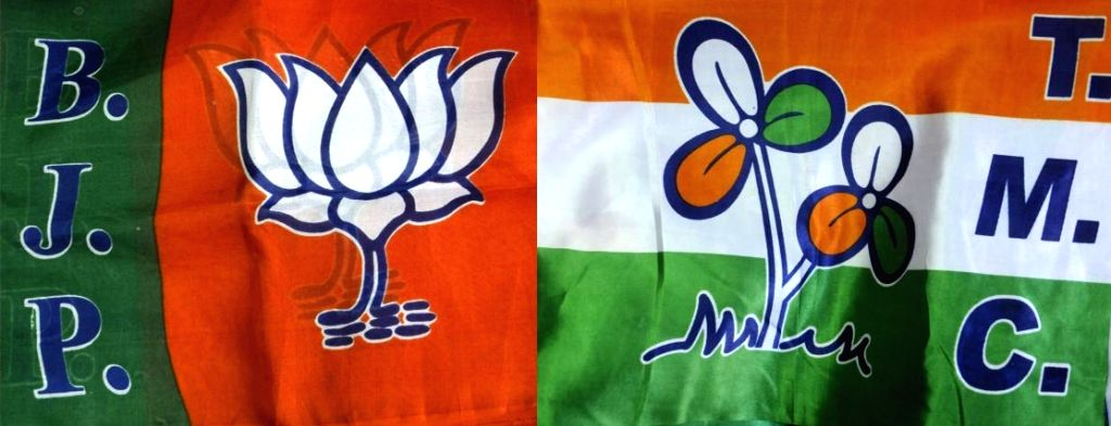 Bharatiya Janata Party (BJP) vs Trinamool Congress (TMC).