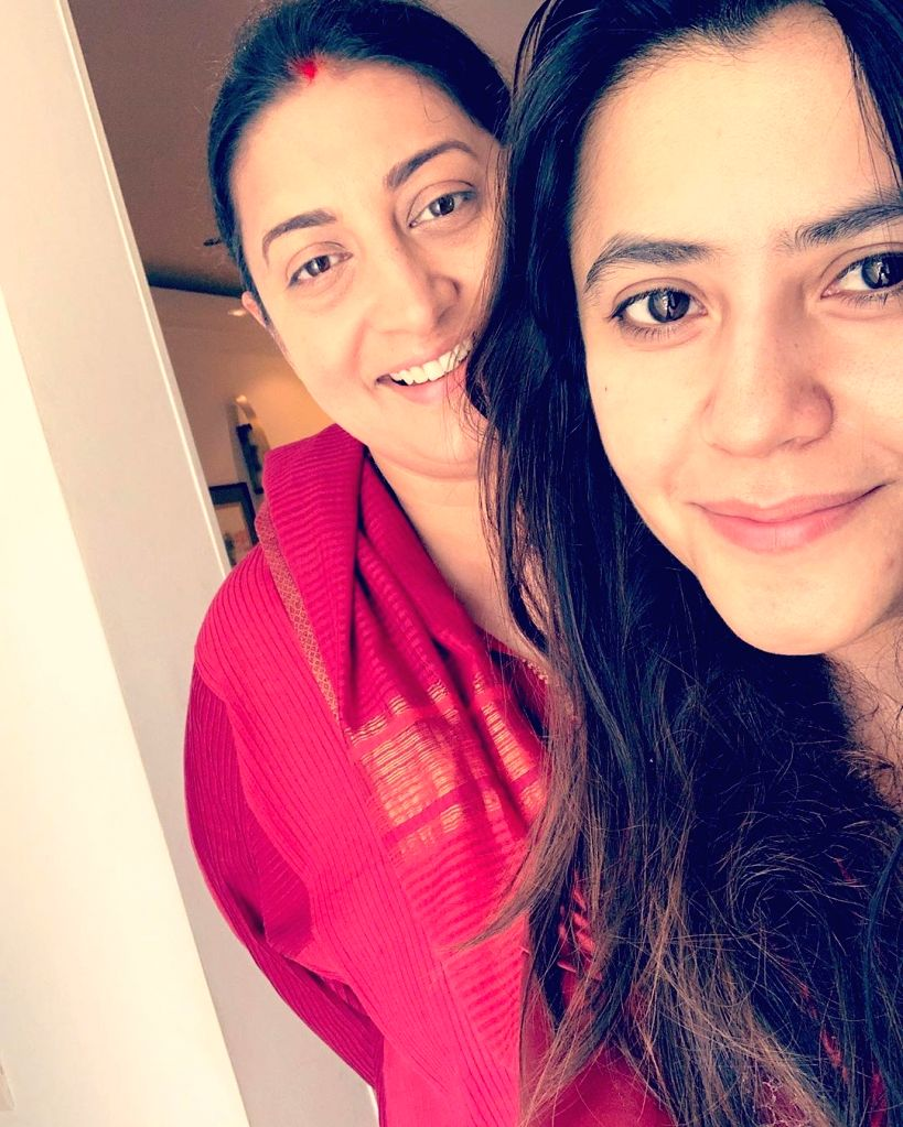 "Bharatiya Janata Party leader Smriti Irani walked a distance of 14 km barefoot to the SiddhiVinayak Temple. She was accompanied by her long-time friend producer Ekta Kapoor. Ekta, who had produced Irani's popular TV show ""Kyunki Saas Bhi Kabhi Bahu T - Smriti Irani and Ekta Kapoor"