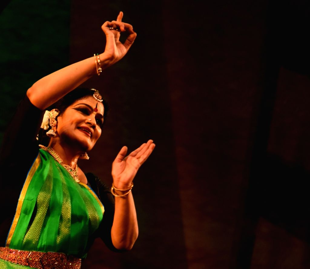 Bharatnatyam dancer Geeta Chandran.