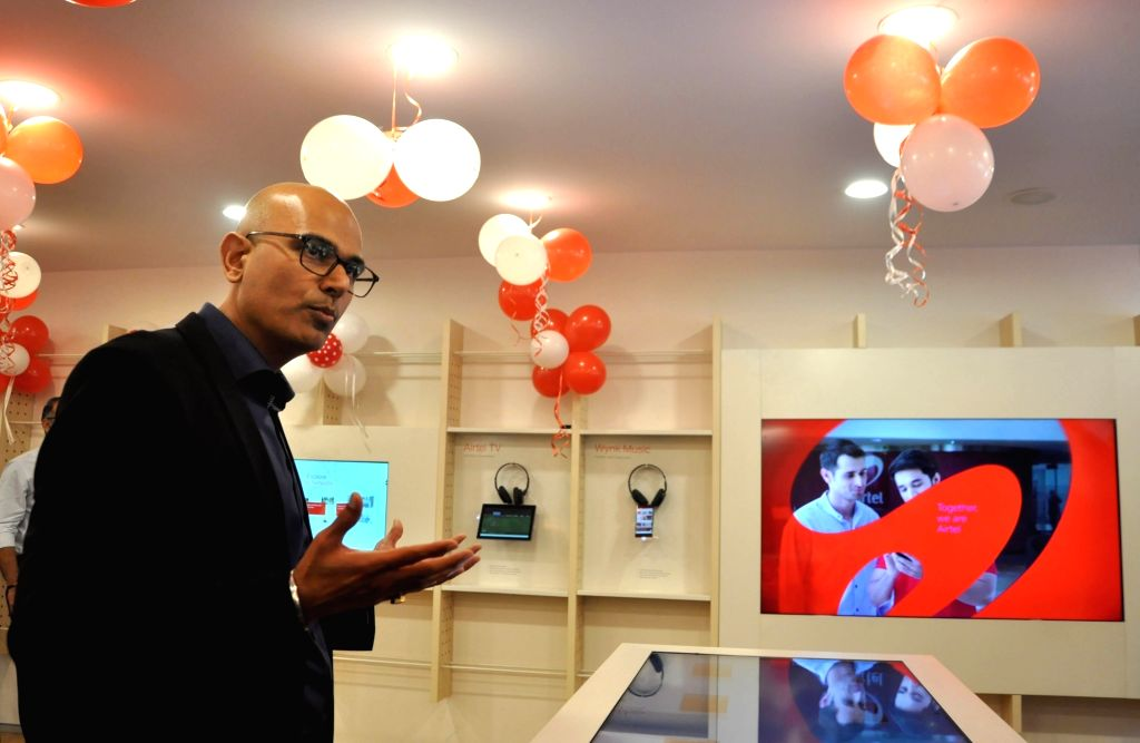 Bharti Airtel CEO (Retail) Vir Inder Nath at the launch of Airtel Next Gen stores in Kolkata, on Feb 13, 2019. - Vir Inder Nath