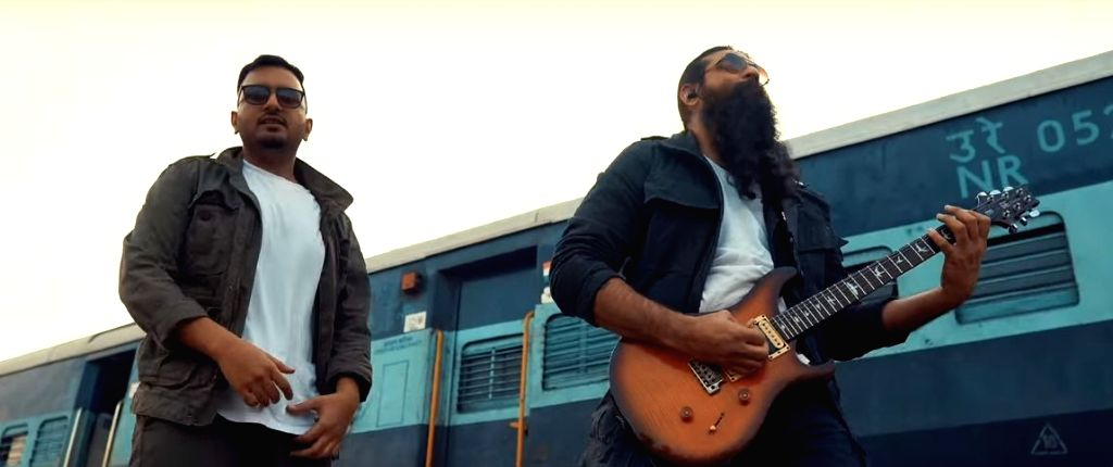 """""""Bhartiya rail"""", a Hindi rap song that sheds light on the unity within diverse India, through the railways, has been launched. The song has been conceptualised and written by MassQline and Jatin."""