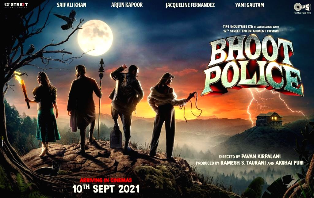 Bhoot Police' to hit theatres on September 10.