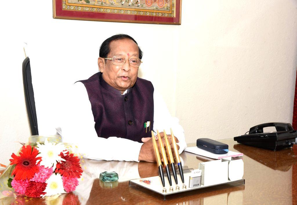 Bhubaneswar: Senior Biju Janata Dal (BJD) leader and seven-time legislator Surjya Narayan Patro was elected uncontested as the Speaker of the 16th Odisha Legislative Assembly, in Bhubaneswar on June 1, 2019. (Photo: IANS)