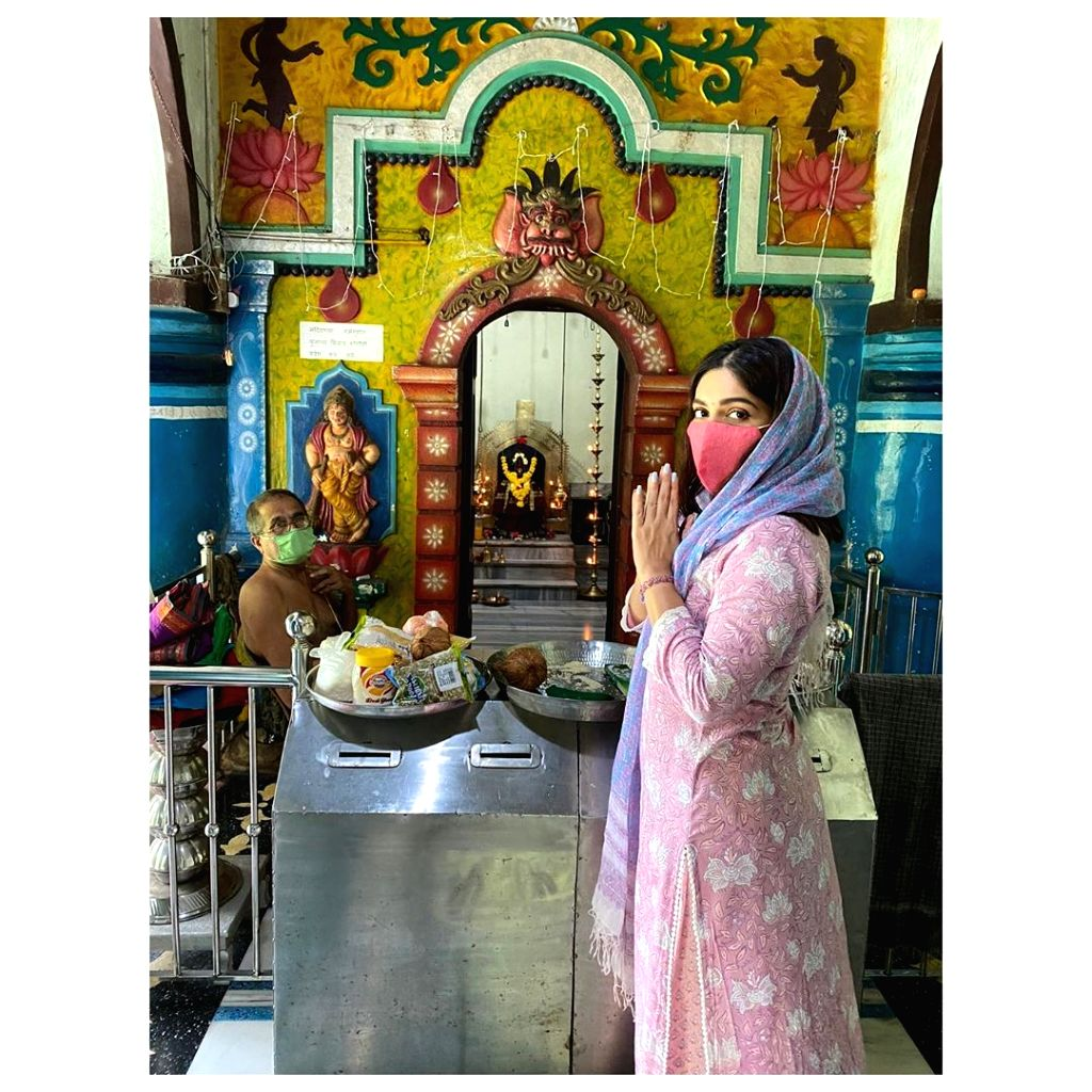 Bhumi goes on temple pilgrimage in her village in Goa.