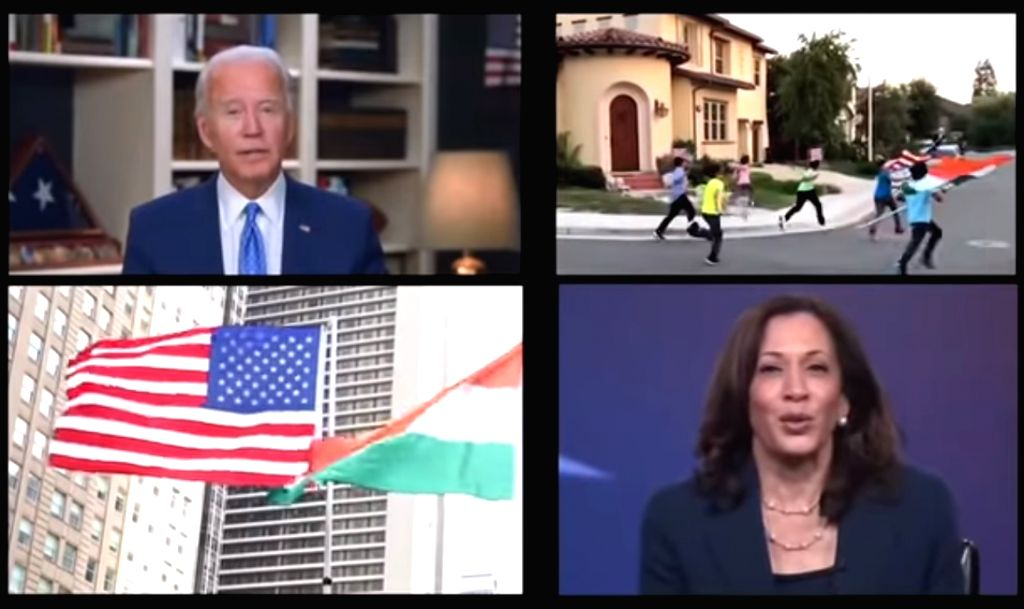 Biden backers turn to Bollywood hit tune to woo Indian Americans.