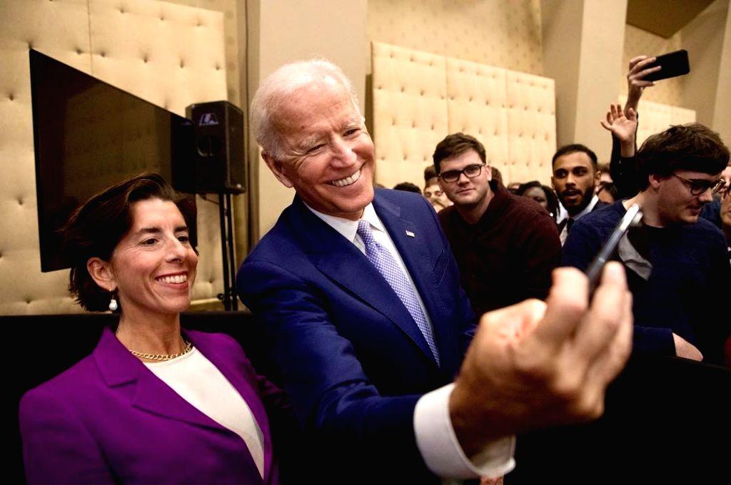 Biden's commerce secretary pick Gina Raimondo confirmed by Senate .(photo:Instagram)