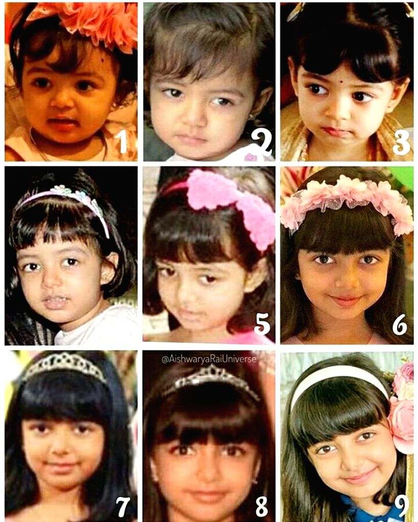 Big B captures various moods of Aaradhya in b'day wish.