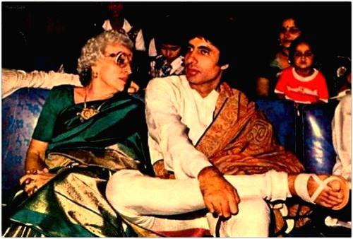 Big B gets emotional on mother's birth anniversary. (Photo Courtesy: srbachchan.tumblr.com)