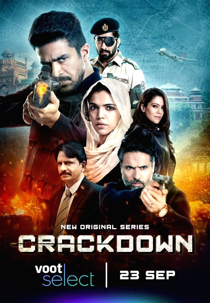 Big B launches first look of thriller series 'Crackdown'.