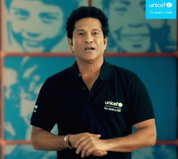 Big B, Sachin tweet greetings as UNICEF India turns 70