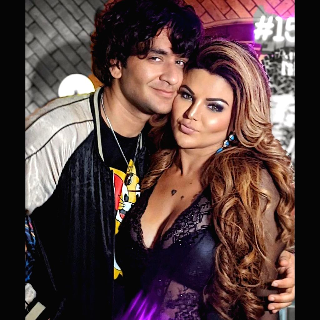 Bigg Boss 14 contestant Rakhi Sawant shared a sting of pictures from a get-together she had with fellow housemates of the recently-concluded season of the reality show.