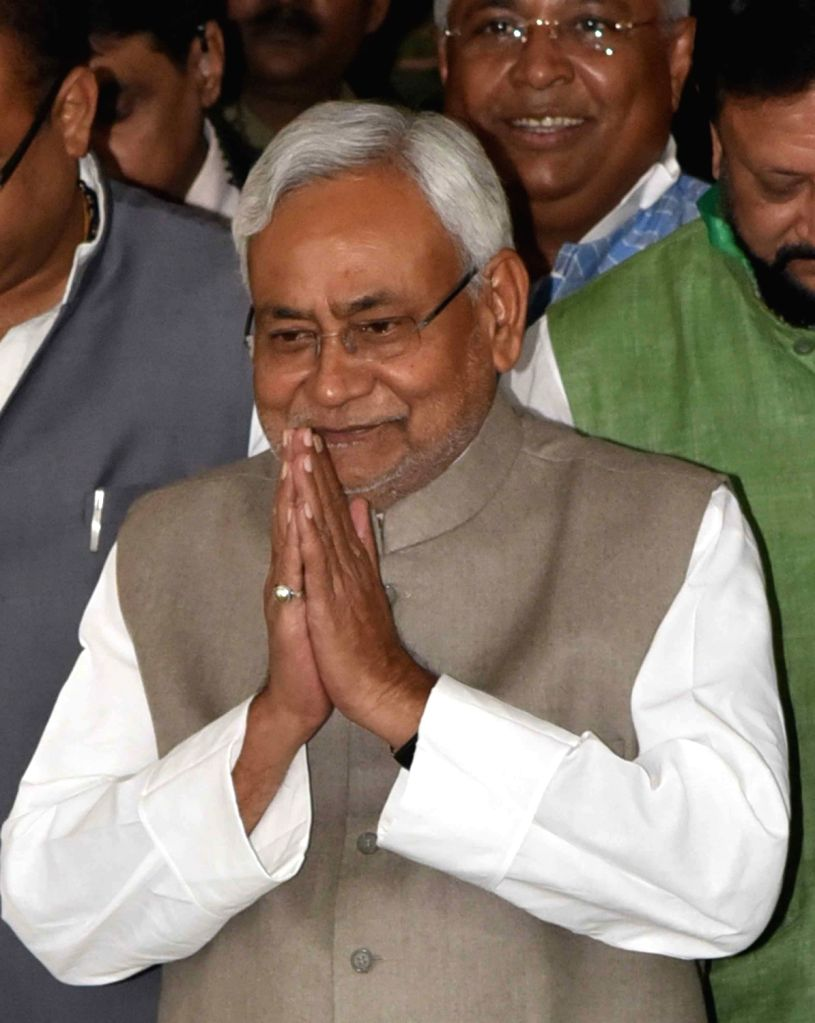 Bihar Chief Minister Nitish Kumar at state legislative assembly in Patna on Nov 30, 2018. - Nitish Kumar