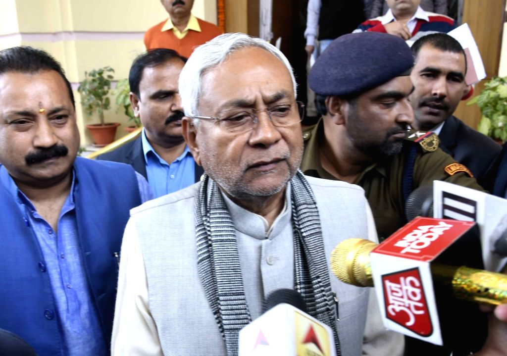 Bihar Chief Minister Nitish Kumar at state assembly in Patna on Feb 15, 2019. - Nitish Kumar