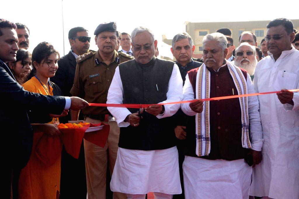 Bihar Chief Minister Nitish Kumar at the inauguration of administrative building of Dr. Kalam Agricultural College, Kishanganj on Dec 12, 2018. - Nitish Kumar