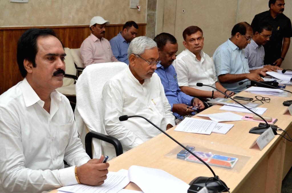 Bihar Chief Minister Nitish Kumar during a meeting in Patna on July 5, 2016. - Nitish Kumar