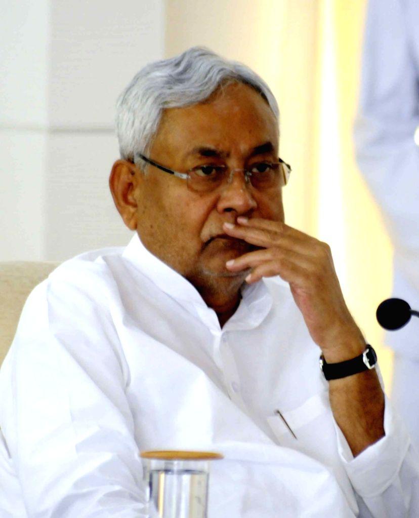 Bihar Chief Minister Nitish Kumar during a programme in Patna on July 3, 2017. - Nitish Kumar